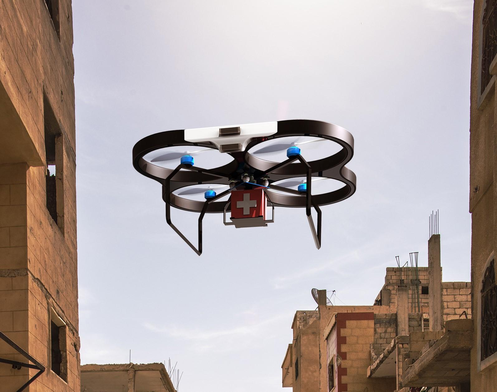 mmWave Radar Defence Drone