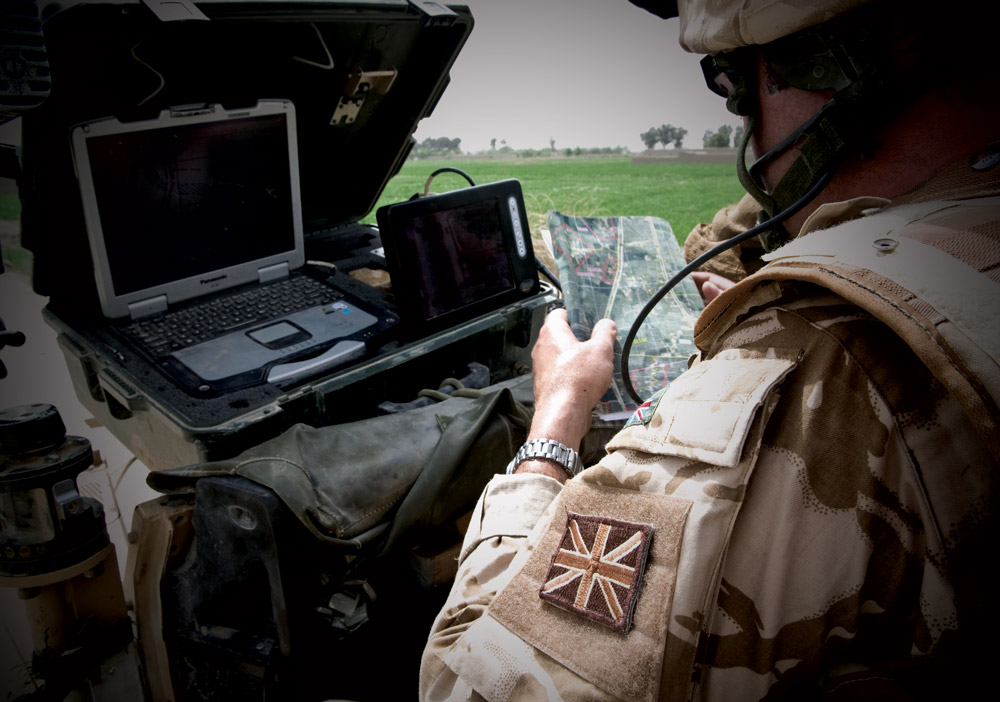 Technology development, solider support, monitoring, armour integrity