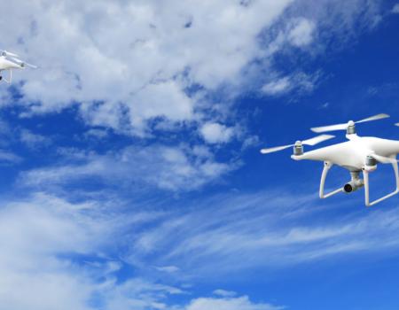 SWARMING DRONES CONCEPT FLIES CLOSER TO REALITY