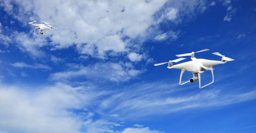 Swarming drones header image